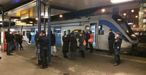 Man hit by two trains near Stockhom