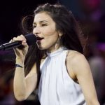 While the home crowd enjoyed hearing the melodic voice of Swedish songstress Laleh.Photo: Fredrik Persson/TT