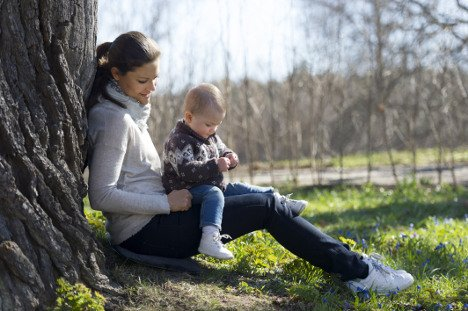 Estelle and her mother Princess Victoria in summer 2013.Photo: Kungahuset