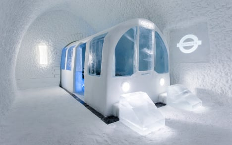 The igloo that grew into an ice fortress