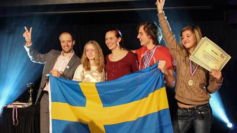 Swede wins Memory World Cup in London