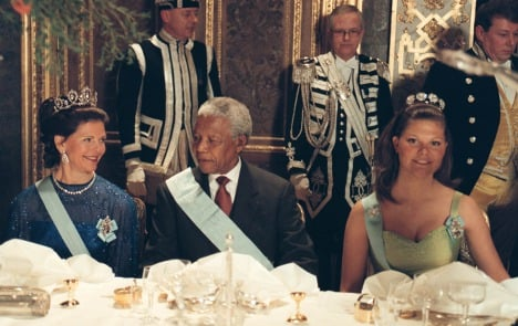 IN PICTURES: Nelson Mandela and Sweden