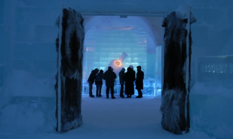 Sweden's Ice Hotel offers a chillin' good time