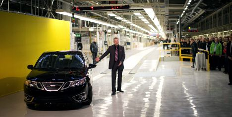 Saab rolls out first fleet after bankruptcy