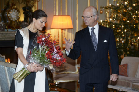 Swedes tell King to step down for Victoria