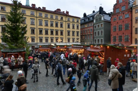 Swedes lap up 'unusually warm' Christmas