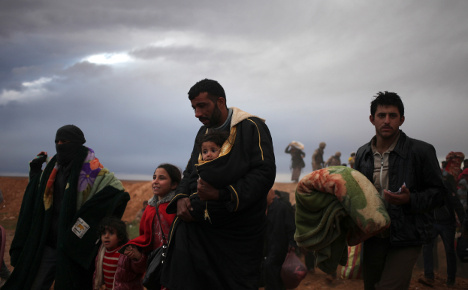 Sweden grapples with rise in Syrian refugees