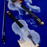 Great care must be taken with the instruments or they will shatter. Or melt.Photo: Ice Music
