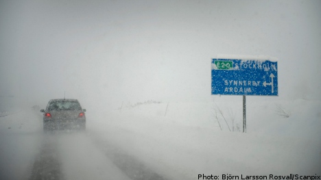 Swedes warned: 'Expect up to 30 cm of snow'