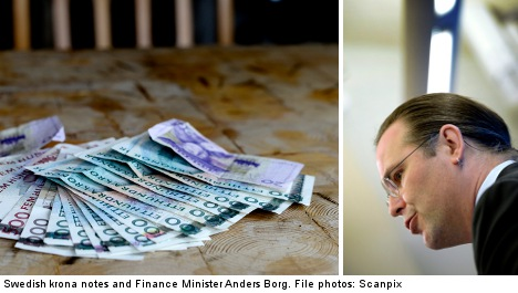 Swedes pay less tax than the Danes and French