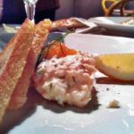 Toast Skagen, with seafood and mayo on toast, is a classic. Photo: Solveig Rundquist