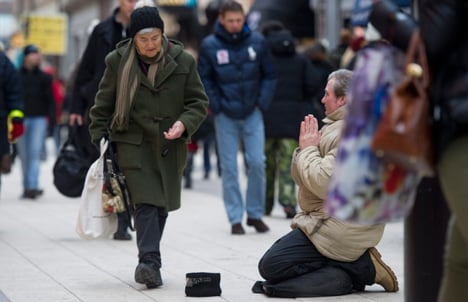 'Romania must pay for beggars': Liberals