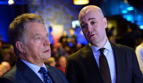 PM insists Sweden's defence is strong enough