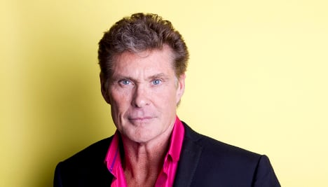 The Hoff in Sweden to film new talk show