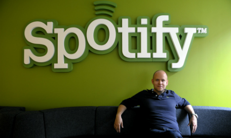 Swedish music sales up as Spotify tightens grip
