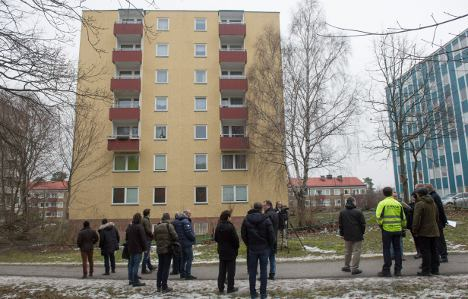 Russian fury over auction of Stockholm building