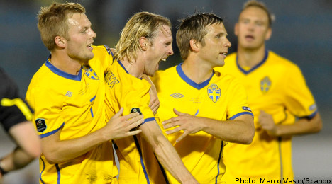 Sweden handed Russian test in Euro 2016 draw