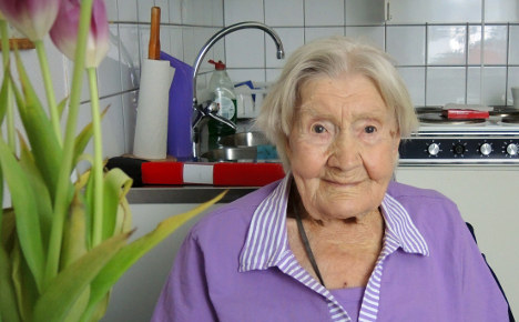 Sweden's oldest person dies just shy of 110