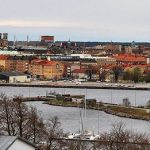 """The award for <b>Blatant Plagiarism</b> goes to either <b>Valdemarsvik</b> or <b>Karlskrona</b> (pictured) which have almost the exact same slogan """"With wind in the sails"""". The municipalities are about 300 kilometres apart on the southern east coast so it could even be the same wind. We're not sure who came up with the slogan first, but further points off for being unimaginative to the both of you. Photo: Boatbuilder/WikiCommons"""