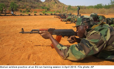 Sweden mulls sending 'up to 200' troops to Mali