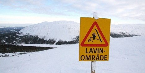 Two injured in avalanche at Swedish ski area