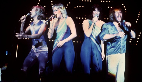 Abba 'looked nuts' on stage to avoid tax