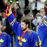 Peter Forsberg (centre) is among the greatest ice hockey players Sweden has ever produced, and is the only one who played on two gold medal-winning teams, in Lillehammer in 1994, and Turin in 2006. His Olympic heroics in '94, a game-winning shoot out goal against Canada for the gold, has since been enshrined on a Swedish postage stamp.Photo: Pontus Lundahl/TT