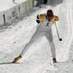 """Gunde Svan, a Dalarna native, was not only a star on the cross country skiing field, but also as an auto racing driver. In the eighties, he claimed four gold medals, one silver, and one bronze. The Swede got into racing to prove that he wasn't a natural skier, rather that """"nothing is impossible"""", which became his mantra. After he hung up the skis and gave up the driving, he became something of a TV personality, even hosting the Swedish version of Gladiators.Photo: Scanpix"""