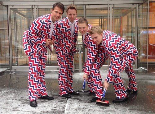 The hottest pants in Sochi: Norwegian men's Olympic curling team