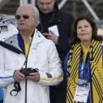 Swedish King Carl XVI Gustaf and Queen Silvia haven't missed a beat at the games. Here, they watch the men's 15K classical-style cross-country racePhoto: AP