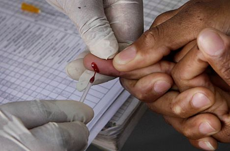 Swedes tie HIV risk to domestic violence