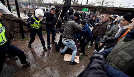 Police detain extreme-left suspect in Kärrtorp riot