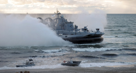 Sweden plays down Russian Baltic operation