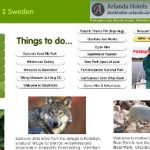 """Tip 4: Your website - make it interesting: """"<a href=""""http://www.escape2sweden.com/"""" target=""""_blank"""">Our website</a> has been a great support,"""" says Steve. """"Online holiday directories are our main point of sale, but our website backs up the offer by selling the area as a great destination. After all, it's the destination they are holidaying in, they're not staying in your home 24/7.""""Photo: Steve Robertshaw"""