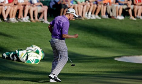 Sweden's Blixt finishes second at Masters