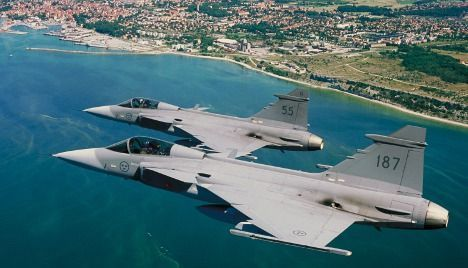 Sweden to beef up air force to counter Russia