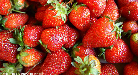 Swedes pay $27 for 'bargain strawberries'