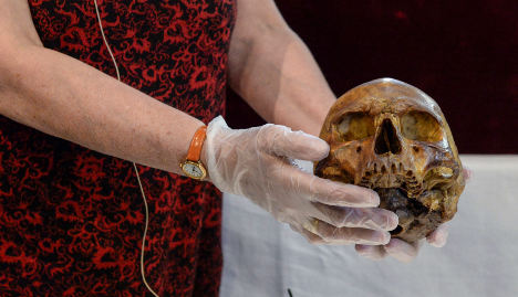 Swedes open coffin of 850-year-old king