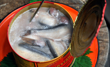 Fermented herring cans explode in hut fire