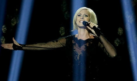 Sweden's Sanna finishes third at Eurovision
