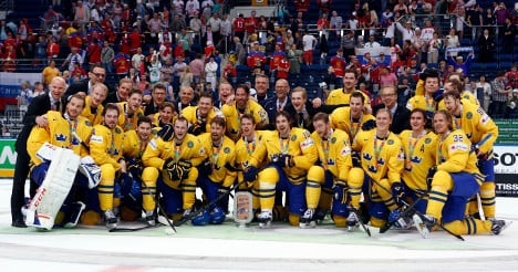 Swedes take bronze in ice hockey world champs