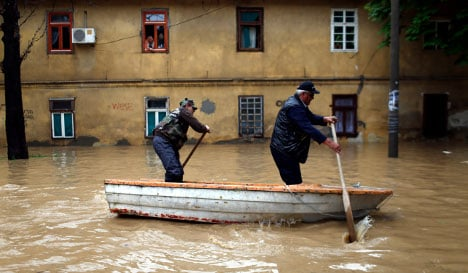 Balkan-Swedes rally to help flood victims
