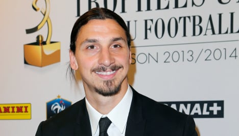 Zlatan earns France's player of the year again
