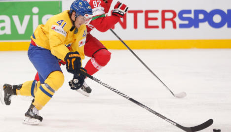 Swedish ice hockey team faces strong Russia