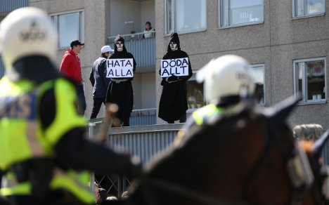 'We feel the Nazi frost in the air': Sweden