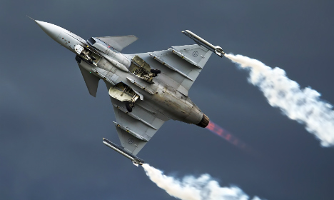 Sweden 'arms dictators' as defence exports soar