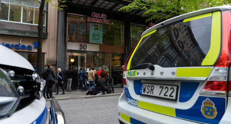 Man found dead in central Stockholm office