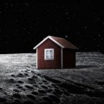 """And lastly, the moon house. """"There's something nicely illogical about the whole thing,"""" Genberg tells The Local.  Photo: Mikael Genberg"""
