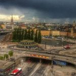 Yes, it was a cloudy week in the capital of Sweden, or as some people say, the capital of Scandinavia. But we got some great pictures coming in. Photo: The Local