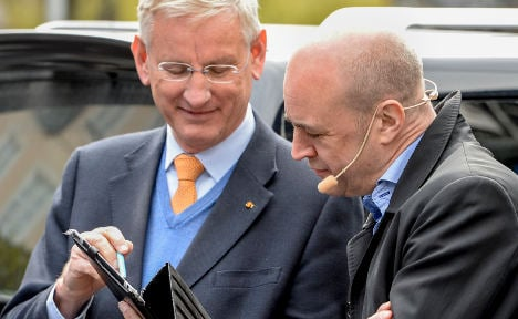 Carl Bildt loses Twitter crown to French minister